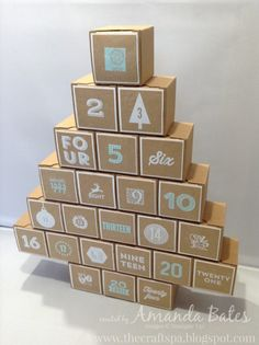 The Craft Spa - Stampin' Up! UK independent demonstrator : 2015 Advent Calendar