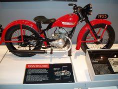 1955 Harley-Davidson Hummer by FarcePest, via Flickr