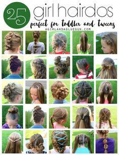 This is a post I�ve been working on ALL summer long. I like to dabble in hair dos�My daughter has had thick long long long hair since she was 3 years old–so It�s like I�ve had my own little barbie doll to play with! As my girls have gotten older, they h