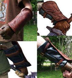 Link's Vambrace by ~SwiftyLusignan Zelda Skyward, Skyward Sword, Cosplay Ideas, Costume Ideas, Link Costume, Link Cosplay, Costume Armour, Unique Costumes, Twilight Princess