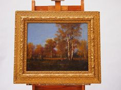 painting 025 - 20th Gallery Retro Furniture, Oil Paintings, Antiques, Gallery, Frame, Home Decor, Art, Antiquities, Picture Frame