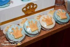 King + Prince themed birthday party with So Many Cute Ideas via Kara's Party Ideas | Cake, decor, recipes, favors, games, and MORE! KarasPartyIdeas.com #kingparty #princeparty #littleprince #partyplanning #partydesign #partyideas (5)