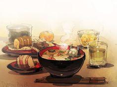 (1) 出水ぽすか(ポ~ン)(@DemizuPosuka)さん | Twitter Really Cool Drawings, Chibi Food, Food Drawing, Kawaii Art, Large Art, Manga, Food Art, Cute Art, Art Inspo