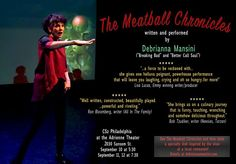 The Meatball Chronicles at FringeArts @ Second Stage At The Adrienne - 10-September https://www.evensi.us/the-meatball-chronicles-at-fringearts-second-stage-at-the/219823980