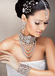 Indian bride jewelry set