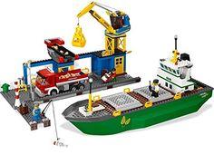 Lego City - 4645 - Jeu de Construction - Le Port: Amazon.fr: Jeux et Jouets