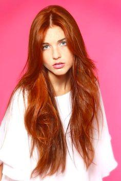 rote Haar Modelle 2018