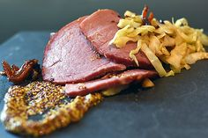 Beef Silverside with Bacon and Onion Barbecued Cabbage