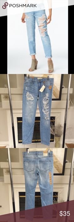 Rachel Roy boyfriend jeans Brand new with tags! All items come from a clean, smoke and pet free home and are packaged in tissue. Offers welcome! Demin Outfit, Rachel Roy, Jeans Brands, Fashion Design, Fashion Tips, Fashion Trends, Boyfriend Jeans, Amazing Women, Brand New
