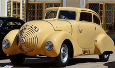 1932 Wikov 35 ....one screwed up looking car