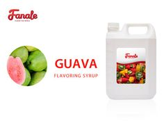 Fanale - Guava Bubble Tea Flavoring Syrup