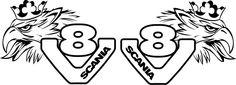 Scania V8 Logo Pin Pinterest Ajilbabcom Portal Picture
