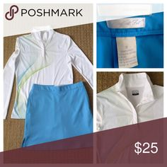 Greg Norman Golf Skort Sz 0 with adjustable waist Great Skort to wear on or off the golf course. Greg Norman Skirts