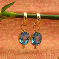 Blue Topaz Enhancers! devinejewellery.com