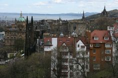 View of Edinburgh's historic rooftops, and handy city guide at www.amorexplore.co.uk