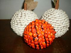 Bolas de sementes decorativas Eggs, Breakfast, Food, Hobbies, Seeds, Craft, Balls, Morning Coffee, Essen