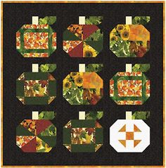 Quilt Inspiration: Free Pattern Day: Halloween Halloween Quilt Patterns, Halloween Quilts, Halloween Fabric, Fun Halloween Crafts, Diy Halloween Decorations, Fall Decorations, Pumpkin Quilt Pattern, Twister Quilts, Halloween Table Runners