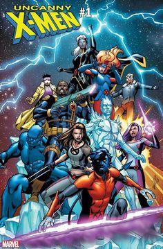 Uncanny X-Men - Carlos Pacheco Variant - Marvel Comics Marvel Comics Art, Bd Comics, Marvel X, Disney Marvel, Kelly Thompson, Kitty Pryde, Marvel Comic Universe, Comics Universe, Galaxy Comics