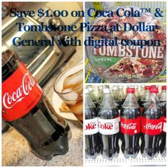 Save $1.00 on a 1.25 liter Coca Cola™ and a Tombstone Pizza for an Easy Meal less than $5.00 at Dollar General. #servewithacoke #collectivebias  This shop has been compensated by Collective Bias, INC. and The Coca-Cola Company, all opinions are mine alone.