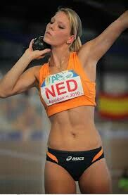 World champion pantatlon and personal friend Nadine
