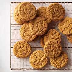 Gingerbread Oatmeal Cookies Recipe -Cookie butter and ground ginger add a new layer of flavor. The recipe makes about 2 dozen cookies; they go fast so you may want to make a double batch. —Carole Resnick, Cleveland, Ohio