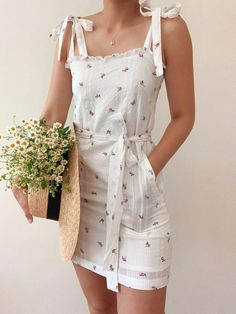 Casual Summer Dresses, Cute Casual Outfits, Summer Outfits, Dress Casual, Ensembles Outfit, Pretty Dresses, Pretty Outfits, Modelos Fashion, Fashion Outfits