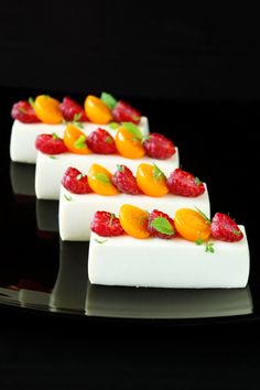 White Chocolate Mousse with Jasmine