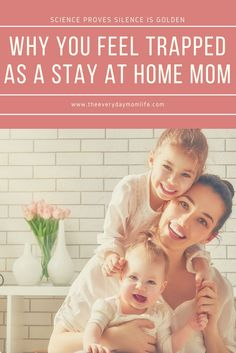 Science backs up why you feel so frustrated as a mom when you don't get silence. Mom health is important for the whole family.