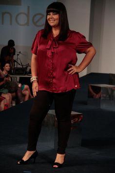 a1487f76f499d2 Fabiana Karla-3 Roupas Para Gordinhas, Moda Para Gordinhas, Como Se Vestir  Bem