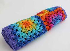 Camino de mesa - Carpeta - Tejida al crochet