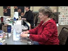 The Jelly Roll 1600 - makes one quilt with only five seams! Our most popular video. How fast can you sew? Youtu.be.
