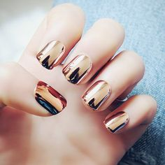 GET $50 NOW | Join RoseGal: Get YOUR $50 NOW!http://www.rosegal.com/stickers-decals/stylish-24-pcs-sparkling-metal-orangepink-nail-art-false-nails-500303.html?seid=6790237rg500303