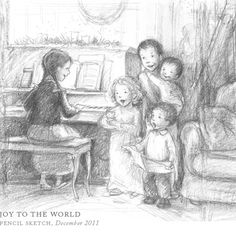 """Joy to the World"" by Breezy Brookshire, Illustrator"