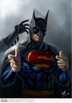 Even Superman wants to be Batman.
