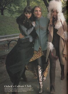 INDEPENDENTS' DAY Vogue, September 1993 ph. Steven Meisel fashion editor: Grace Coddington