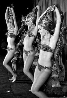 Desert Inn Dancers Las Vegas 1967