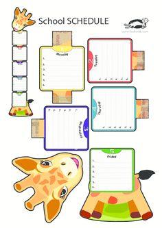 printables for kids School Staff, Back To School, Classroom Organization, Classroom Decor, Islamic Cartoon, School Schedule, School Calendar, Class Decoration, Preschool Learning