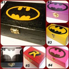Miniature Wonder Woman Inspired Wooden Jewelry Box by SuperCrafters