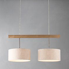 Discover Lighting at John Lewis & Partners. Transform any room at home with a light from our range, including ceiling lights and floor lamps. Over The Table Lighting, Dining Lighting, Family Dining Rooms, Diy Outdoor Kitchen, Interior Stairs, Lighting Online, Hanging Lights, Home Remodeling, Home Furniture