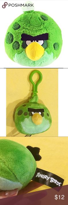 "Rare Angry Birds Plush Keychain - New Listing! NWT, This is a Series 1 Space Terence Angry Bird Plush Keychain. Measures 3"" all around. Says D12 on tag. Is hard to find for purchase, as it is 2009-12 item.  No original packaging, but will come wrapped in a small gift box. Let me know if any other questions. Accessories"