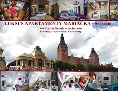LUKSUS APARTAMENTY -MARIACKA  Modern, newly furnished and fully equipped in a very high standard in the best location of Szczecin in the center of the old town, nevertheless in a very quiet street near the castle of the dukes of Pomerania, new Stettiner Philharmonic, King's Gate, Paul church, national museum, Loitzenhaus, port gate, tower of the Seven coats and the shafts chrobry. Close to restaurants, bars, nightclubs, theaters, museums, shops, offices, schools, the largest shopping centers…