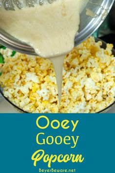 Popcorn Snacks, Salty Snacks, Popcorn Recipes, Yummy Snacks, Delicious Desserts, Yummy Food, Marshmallow Popcorn, Marshmallow Cream, Campfire Snacks