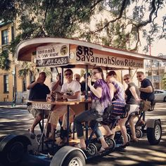 What a perfect evening for the Savannah Slow Ride! - @visitsavannah- #webstagram