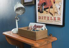Casier rectangulaire en bois « Vintage »