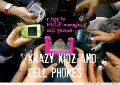 How do you manage your kid's cell phone usage? What is a good age to let them have a phone?