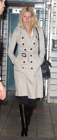 Love her hair and the coat