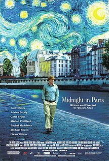 I spent the last 2+ years wandering the streets of Paris pretending to follow in the footsteps of famous people. This movie was fun because Gil found that low door in the wall and actually got to meet the people. If you love Paris, this is a definite watch.