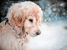 Golden Retriever Puppy by xXSahara96Xx on DeviantArt