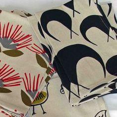 retro designer tea towels