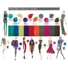Pantone's Fall 2013 Forecast by tessbuckler - Polyvore